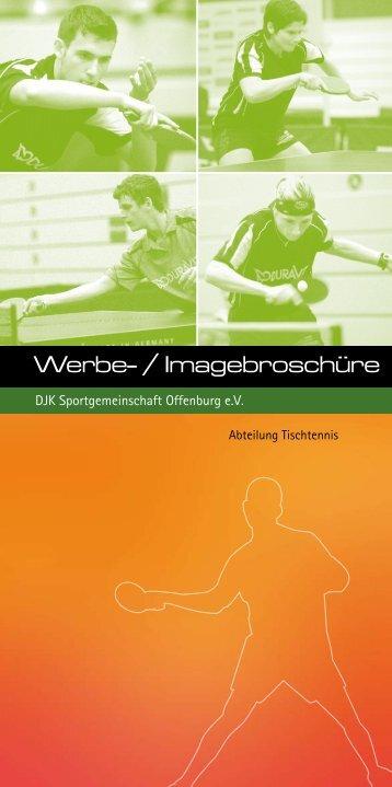 Download: Werbe- / Imagebroschüre - DJK Offenburg