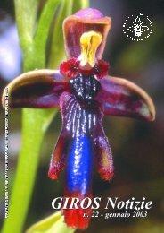 Croce - GIROS - Gruppo Italiano per la Ricerca sulle Orchidee ...