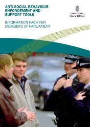 Home Office ASB guide - Lewes District Community Safety Partnership