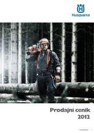 Skupni cenik Husqvarna 2012 - Jurca TD