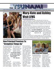 Mary-Kate and Ashley Visit LFHS