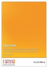Styleguide - Fonds Soziales Wien