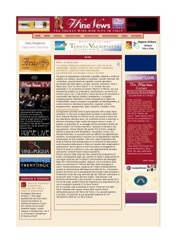 LA TERRA TREMA al Leoncavallo 2010 / Rassegna Stampa