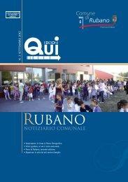 notiziario Settembre 2012 - Comune di Rubano