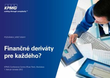 Finančné deriváty pre každého?
