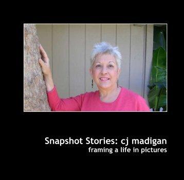Snapshot Stories: cj madigan - Shoebox Stories