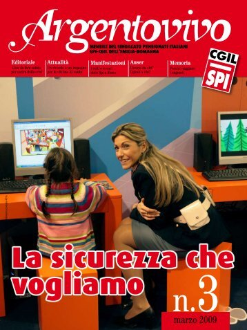 Argentovivo - marzo 2009 - Spi-Cgil Emilia-Romagna