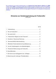 hinweise zur existenzgründung als freiberufler.pdf - Traum-Projekt.com