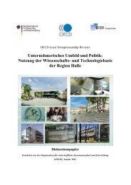 Unternehmerisches Umfeld und Politik - WZW ...