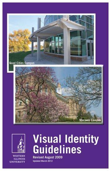 Visual Identity Guidelines - Western Illinois University