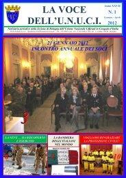 LA VOCE DELL'U.N.U.C.I. - Unuci Bologna