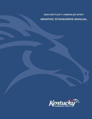 graphic standards manual - Web Designer's Toolkit
