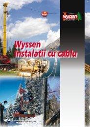 Wyssen Instalatii cu cablu - Wyssen Seilbahnen AG