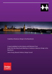 Creativity in Business: Design in the Boardroom