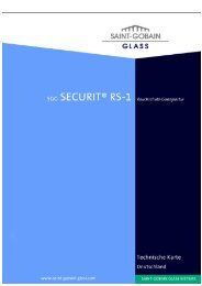 SGG SECURIT® RS-1 - Saint-Gobain Glass