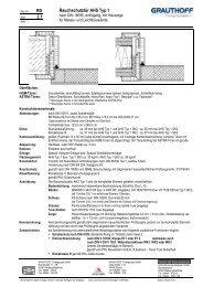 RD 2.1 Rauchschutztür AHS Typ 1 - Grauthoff