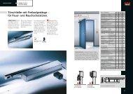 Türschließer mit Freilaufgestänge – für Feuer- und ... - RWA-Berlin