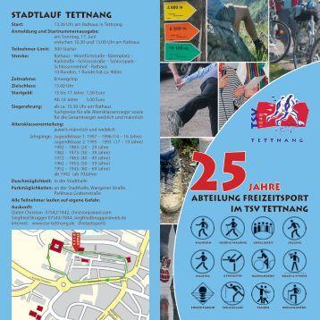 25 Jahre - TSV 1848 Tettnang