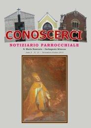 Anno 5 - n. 21 Settembre - Ottobre 2010 - Comunità Pastorale ...