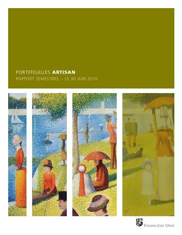PORTEFEUILLES ARTISAN - CI Investments