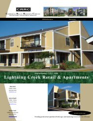 Lightning Creek Retail & Apartments - Commercial Realty ...