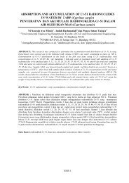 ABSORPTION AND ACCUMULATION OF Cr-51 RADIONUCLIDES ...