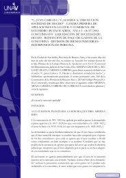 C., Juan Carlos c F., Haydee s disolución sociedad de ... - UNAV