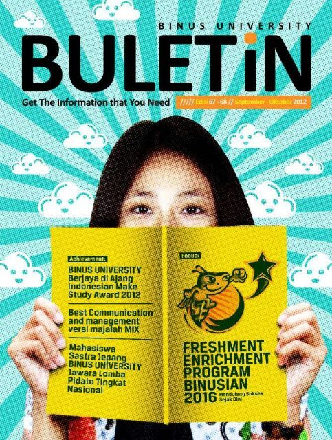 BULETiN Edisi 67-68 / September – October 2012 - binus university