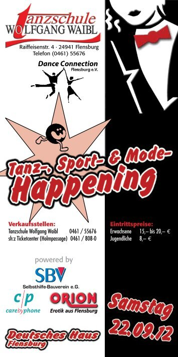Eintrittspreise - Tanzschule Wolfgang Waibl