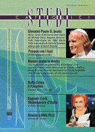 Giovanni Paolo II, beato Mondo arabo in rivolta ... - Aracne editrice
