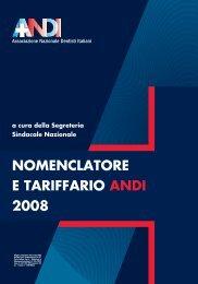 tariffario ANDI 2008 - Cercamedicodentista.It