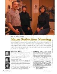 Harm Reduction Nursing
