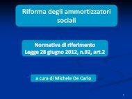 AMMORTIZZATORI SOCIALI - Provincia di Udine