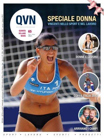 QVN nr. 65 MARZO GIUGNO 2013 - Quanta Sport Village
