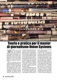 Teoria e pratica per il master di giornalismo Union ... - Porto & diporto
