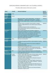 elenco aderenti al 25/02/2011 - Vivere con Lentezza