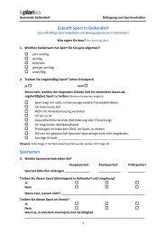 Zukunft Sport in Geltendorf Sportarten - TTC Geltendorf eV