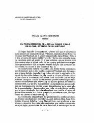 El promontorio de Aigua Dolça i Salà de Elche ... - Museo Prehistoria