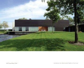 download pdf - Bedaux de Brouwer Architecten