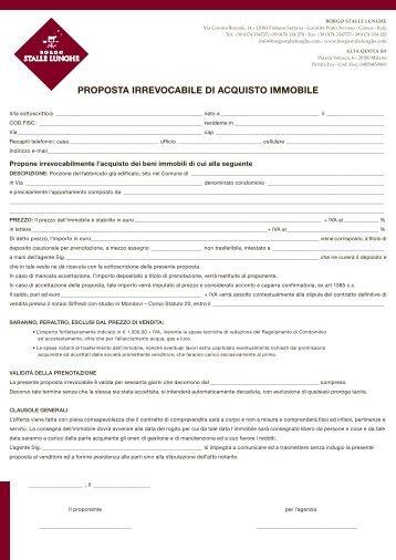 Proposta acquisto immobile il progetto gruppo immobiliare - Come valutare immobile ...