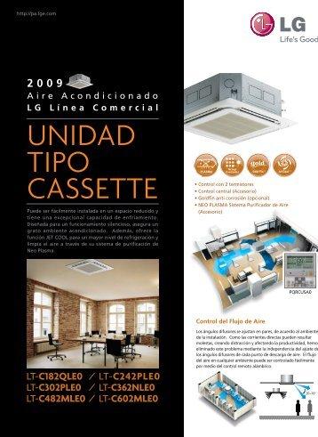UNIDAD TIPO CASSETTE - AvilAire Aires Acondicionados