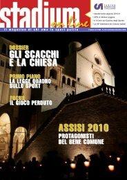 n. 9/10/11/12 di Settembre/Dicembre 2010 - CSI Padova