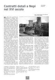 Contratti dotali a Nepi - Biblioteca consorziale di Viterbo