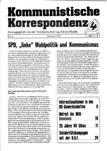 KK 06/74 - International Bolshevik Tendency