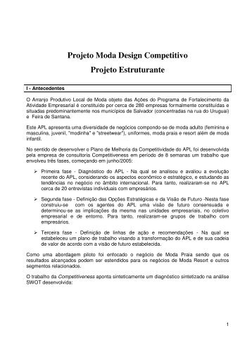 Moda Design Competitivo (PDF) - Cultura Digital