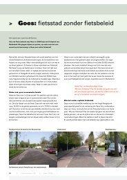Goes: fietsstad zonder fietsbeleid - Fietsberaad