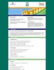 Newsletters 2008 - fimaa roma