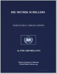 DIE METRIK SCHILLERS - World eBook Library