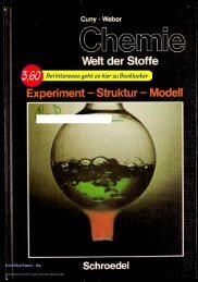 Cuny / Weber Chemie, Welt der Stoffe, Experiment - Struktur - Modell