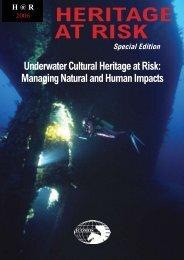 Underwater Cultural Heritage at Risk - Icomos